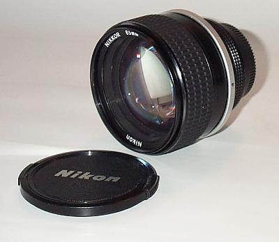 Nikkor AI-S f1.4/85mm