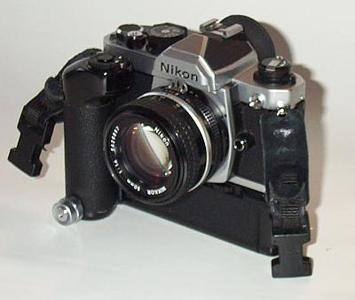 Nikon FM2n with MD12 and Nikkor 1.4/50mm